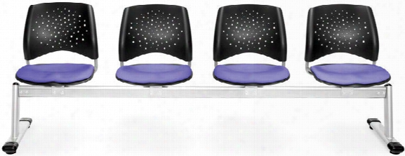 Stars 4 Seat Bench By Ofm
