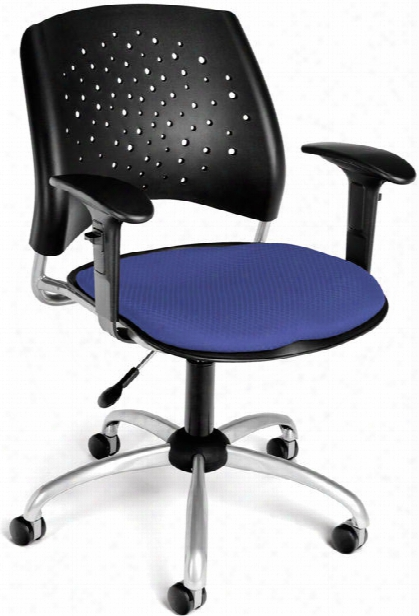 Stars Swivel Chair With Arms By Ofm