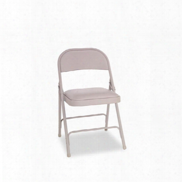 Steel Folding Chair With Padded Seat By Alera