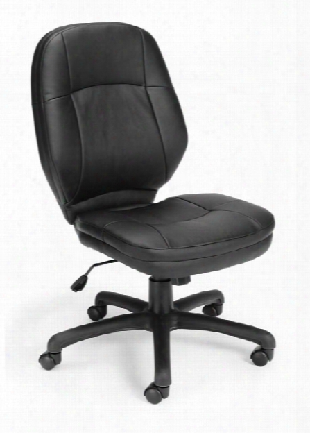 Stimulus Armless Mid Back Chair By Ofm