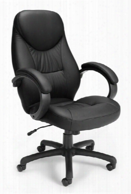 Stimulus High Back Chair With Arms By Ofm