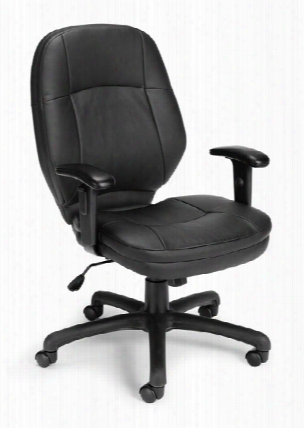Stimulus Mid Back Chair With Arms By Ofm