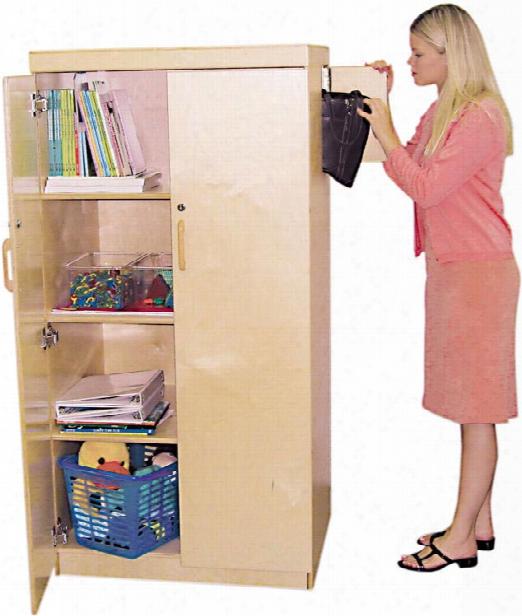 Teachers Lock-it-up Cabinet By Wood Designs