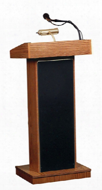 The Orator Floor Lectern By Oklahoma Sound