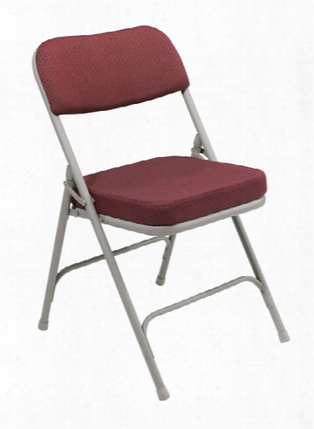 Thick Padded Folding Chair By National Public Seating