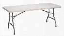 "30"" x 60"" Blow Molded Folding Table by Correll"