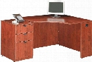 Corner Desk with File by Marquis