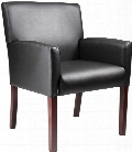 Reception Box Arm Chair by BOSS Office Chairs