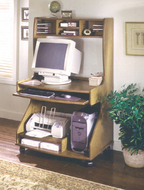 Tower Computer Cart By Ironwood