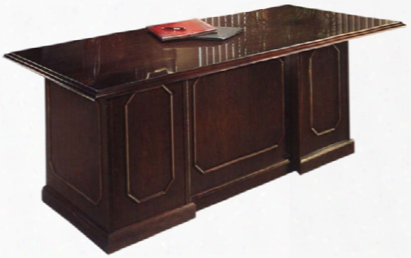 "Traditional Style 72"" X 36"" Executive Desk By Dmi Office Furniture"