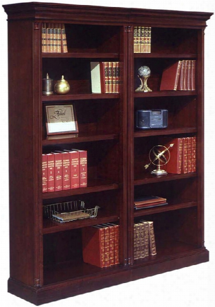 Two Section Bookcase By Dmi Office Furniture