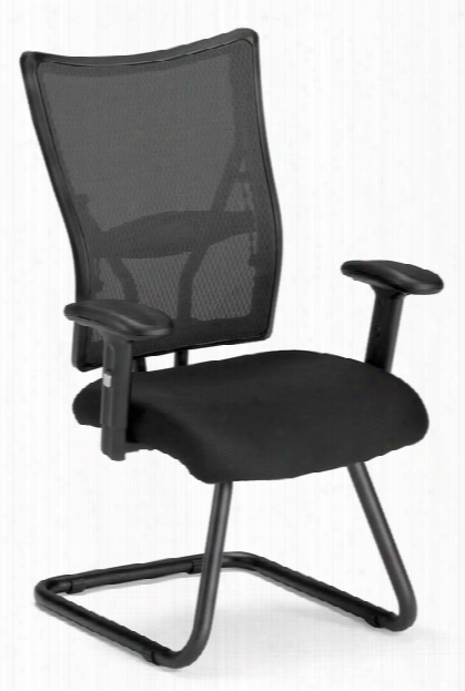 Ultimate Guest Mesh Chair By Ofm