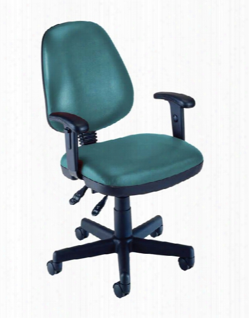 Vinyl Posture Task Chair With Arms By Ofm