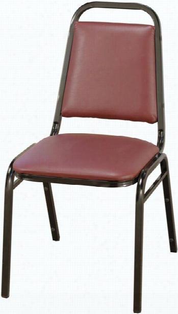 Vinyl Stack Chair By Kfi Seating