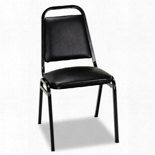 Vinyl Stacking Chair By Alera