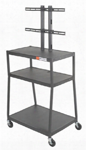 Wide Body Flat Panel Tv Cart By Balt