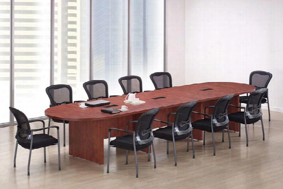14' Racetrack Conference Table By Office Source