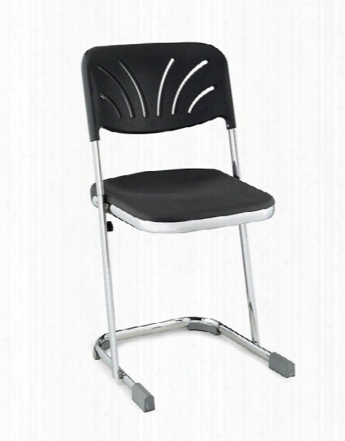 "18"" Stool With Blow Molded Seat And Back By National Public Seating"