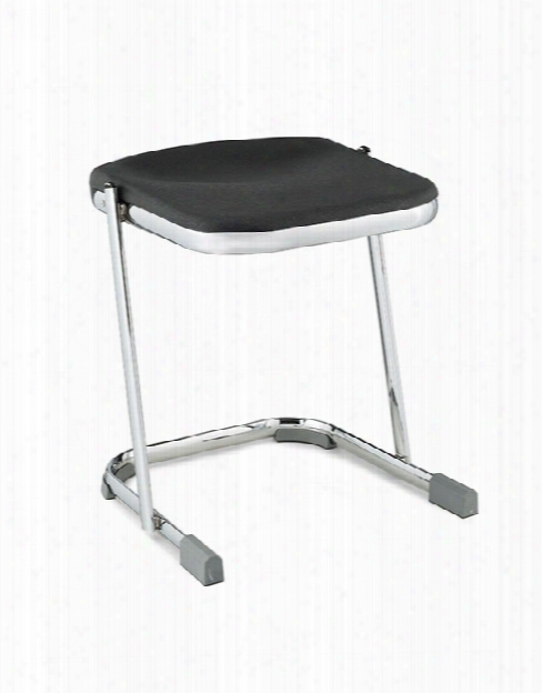"18"" Stool With Blow Molded Seat By National Public Seating"