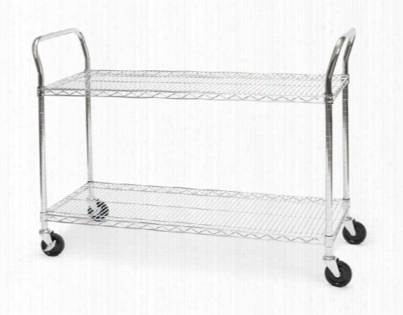 "18"" X 48"" Heavy Duty Utility Cart By Ofm"