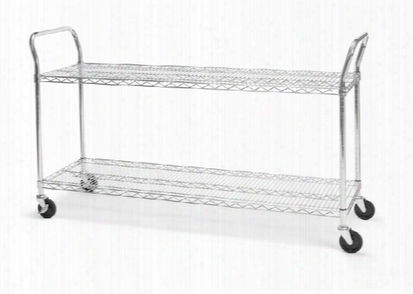 "18"" X 60"" Heavy Duty Utility Cart By Ofm"