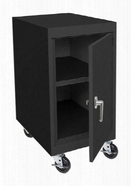"18""w X 24""d X 36""h Transport Mobile Storage Cabinet By Sandusky Lee"