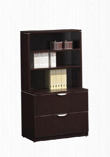 2 Drawer Lateral File With Hutch By Office Source