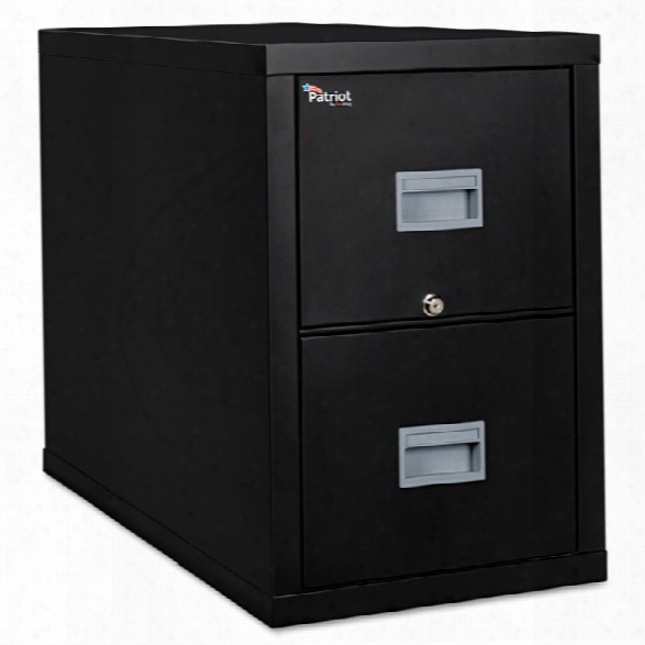 2 Drawer Letter Size Fireproof File By Fireking
