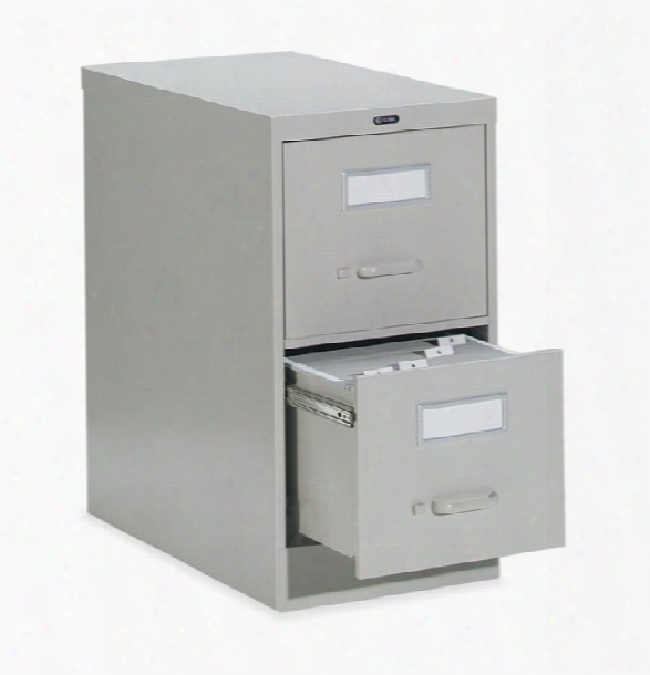 """2 Drawer Letter Size Vertical File - 26-1/2""""d By Global"""