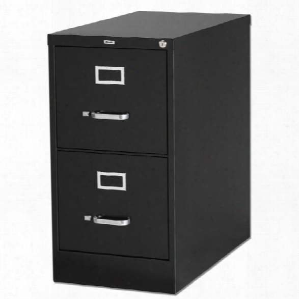 2 Drawer Letter Size Vertical File By Lorell