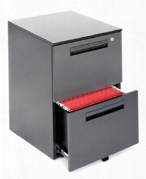 2 Drawer Mobile File Pedestal By Ofm