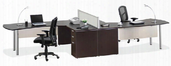 2 Person Workstation By Office Source