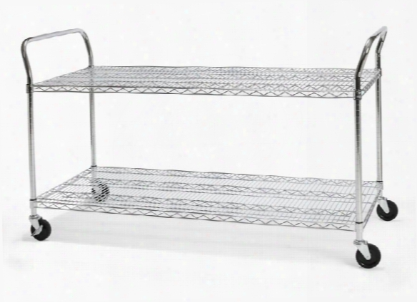 "24"" X 60"" Heavy Duty Utility Cart By Ofm"