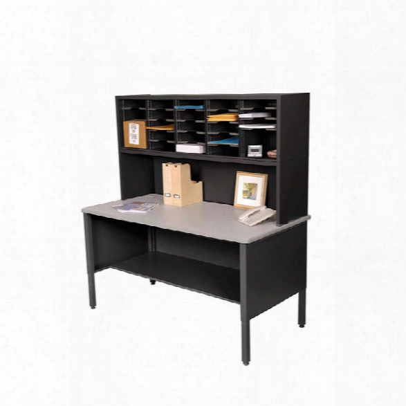 25 Adjustable Slot Literature Organizer With Riser By Marvel