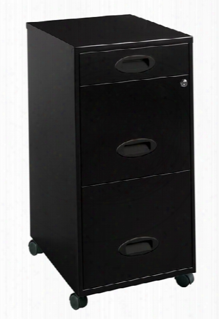 3 Drawer Changeable File Cabinet By Hirsh Industries