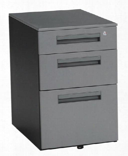 3 Drawer Mobile File Pedestal By Ofm
