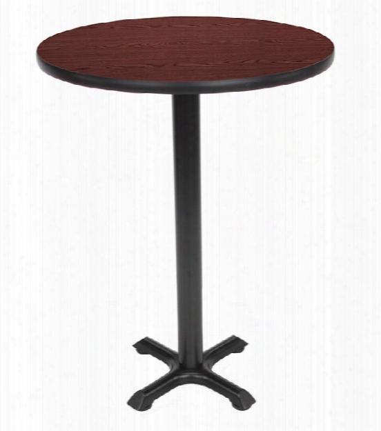"""30"""" Round Cafe Height Table By Ofm"""