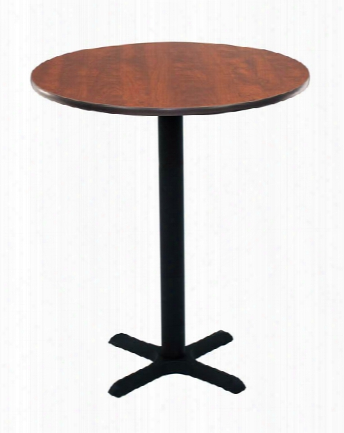 "30"" Round Cafe Height Table By Regency Furniture"