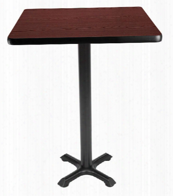 "30"" Square Cafe Height Table By Ofm"