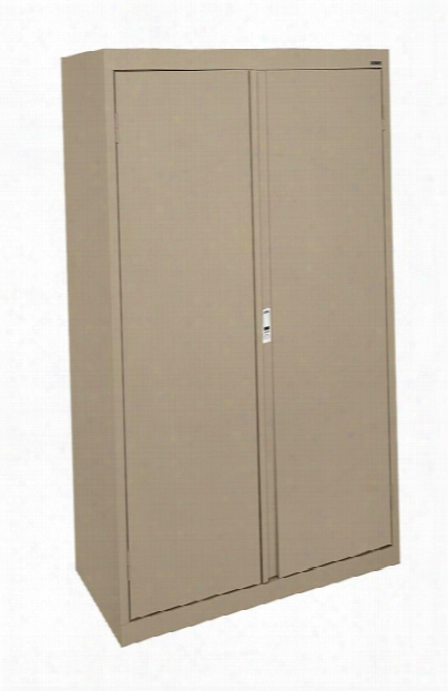 "30""w Double Door Storage Cabinet With File Drawer By Sandusky Lee"