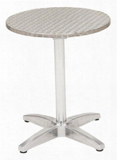 "32"" Round Stainless Steel Table By Kfi Seating"