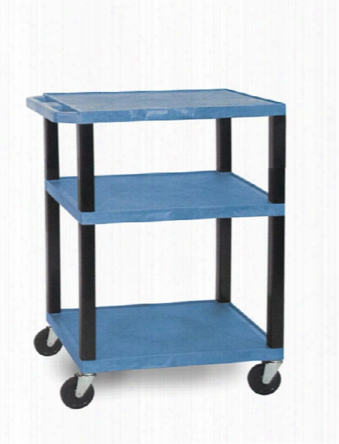 """34"""" Colored Tuffy Cart By H Wilson"""
