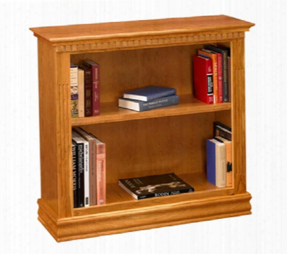"36"" Solid Wood Monticello Cherry Bookcase By A & E Wood Designs"