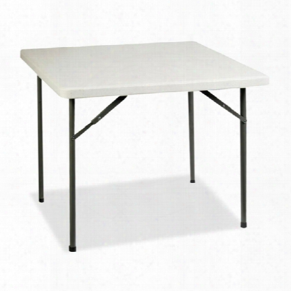"""36"""" Square Ultra Lite Banquet Table By Lorell"""