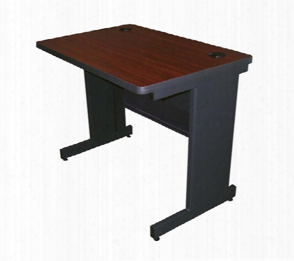"36"" X 24"" Training Table With Modesty Panel By Marvel"