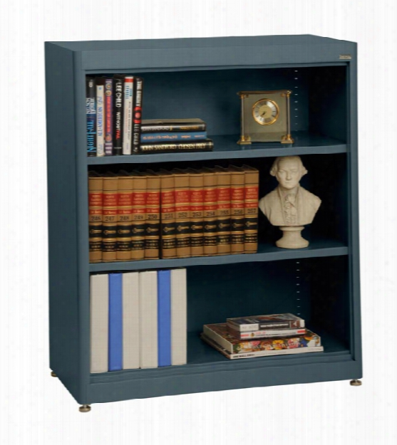 "36""w X 18""d X 42""h Radius Edge Bookcase By Sandusky Lee"
