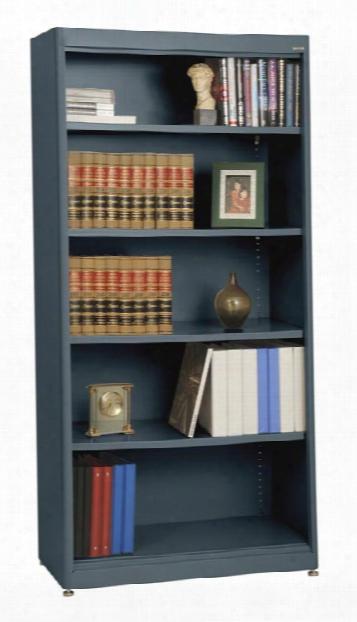 "36""w X 18""d X 72""h Radius Edge Bookcase By Sandusky Lee"