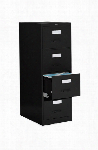 "4 Drawer Legal Size Vertical File - 25""d By Global"