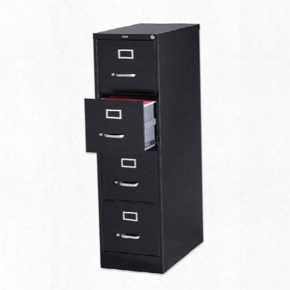 4 Drawer Letter Size Vertical File By Lorell