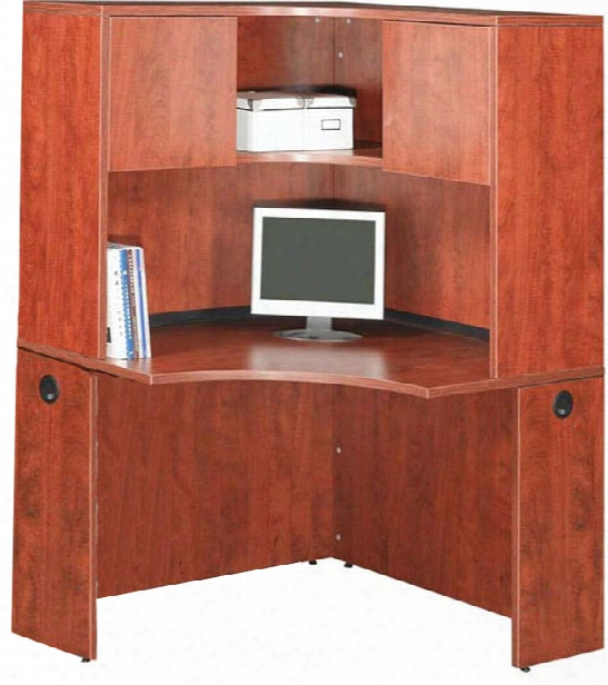 "42"" Corner Desk With Hutch By Office Source"